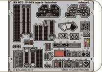 P-40N early - Interior S.A. [Hasegawa] · EDU 33072 ·  Eduard · 1:32