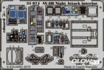 AV-8B Night Attack - Interior S.A. [Trumpeter] · EDU 33074 ·  Eduard · 1:32