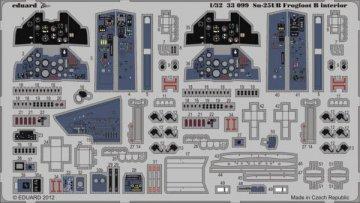Su-25UB Frogfoot B - Interior S.A.[Trumpeter] · EDU 33099 ·  Eduard · 1:32