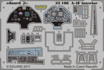 A-4F - Interior S.A. [Trumpeter] · EDU 33108 ·  Eduard · 1:32