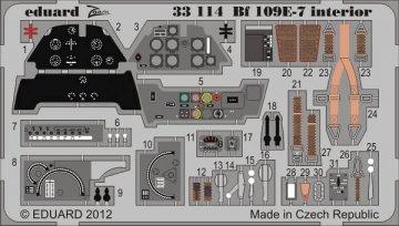 Messerschmitt Bf 109 E-7 - Interior S.A. [Trumpeter] · EDU 33114 ·  Eduard · 1:32