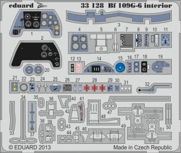 Messerschmitt Bf 109 G-6 - Interior S.A. [Revell] · EDU 33128 ·  Eduard · 1:32
