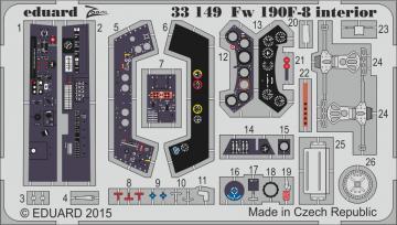 Focke Wulf Fw190 F-8 interior [Revell] · EDU 33149 ·  Eduard · 1:32