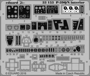 P-39 Q/N Airacobra - Interior [Kitty Hawk] · EDU 33153 ·  Eduard · 1:32