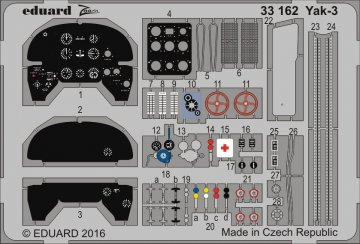 YAK-3 [Special Hobby] · EDU 33162 ·  Eduard · 1:32