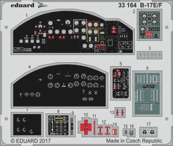 Boeing B-17E/F [HKM] · EDU 33164 ·  Eduard · 1:32