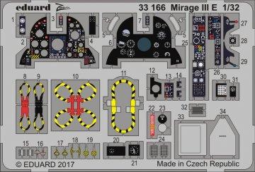 Mirage III E [Italeri] · EDU 33166 ·  Eduard · 1:32