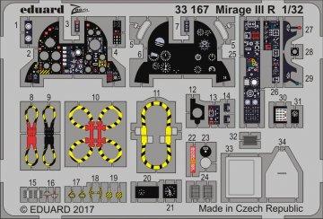 Mirage III R [Italeri] · EDU 33167 ·  Eduard · 1:32