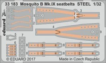 Mosquito B Mk.IX STEEL [HKM] · EDU 33183 ·  Eduard · 1:32
