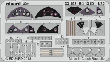 Bücker Bü 131D [ICM] · EDU 33193 ·  Eduard · 1:32