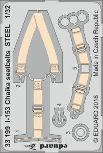 I-153 Chaika - Seatbelts STEEL [ICM] · EDU 33199 ·  Eduard · 1:32