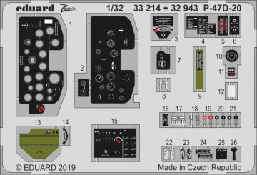 P-47D-20 [Trumpeter] · EDU 33214 ·  Eduard · 1:32