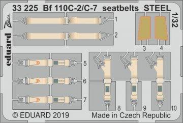 Messerschmitt Bf 110 C-2/C-7 - Seatbelts STEEL [Revell] · EDU 33225 ·  Eduard · 1:32