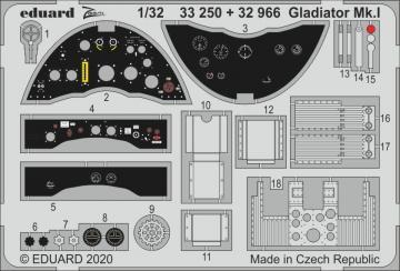 Gladiator Mk.I [ICM] · EDU 33250 ·  Eduard · 1:32