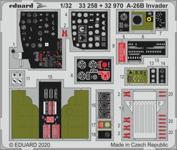 A-26B Invader [HobbyBoss] · EDU 33258 ·  Eduard · 1:32