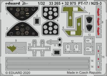 Stearman PT-17 / N2S-3 [ICM] · EDU 33265 ·  Eduard · 1:32