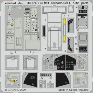 Tornado GR.4 [Italeri] · EDU 33274 ·  Eduard · 1:32