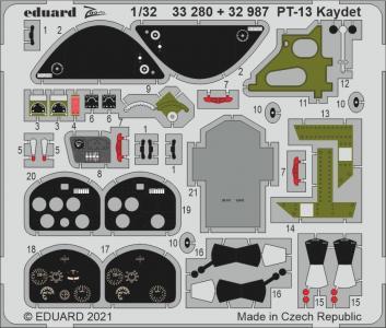 PT-13 Kaydet [Roden] · EDU 33280 ·  Eduard · 1:32