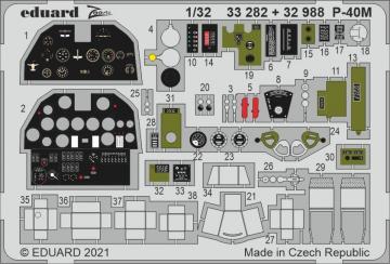P-40M War Hawk [Trumpeter] · EDU 33282 ·  Eduard · 1:32