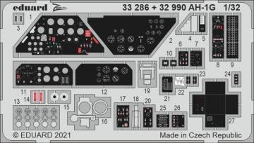 AH-1G Cobra [ICM] · EDU 33286 ·  Eduard · 1:32