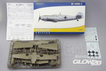 Messerschmitt Bf 109 E-3 - Weekend Edition · EDU 3402 ·  Eduard · 1:32