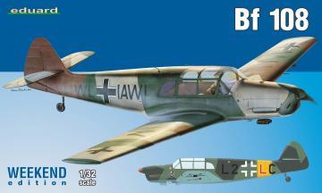 Messerschmitt Bf 108 -  Weekend Edition · EDU 3404 ·  Eduard · 1:32
