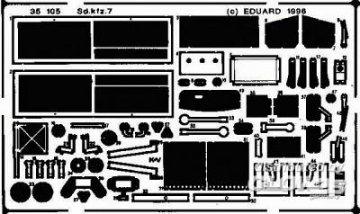 Sd.Kfz. 7 · EDU 35105 ·  Eduard · 1:35