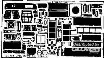 Opel Blitz 3(t) Type S · EDU 35154 ·  Eduard · 1:35