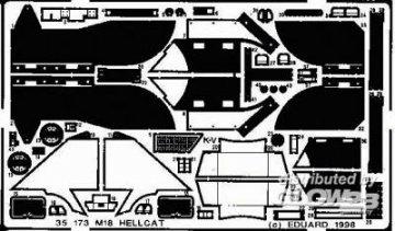 M-18 Hellcat Detailbausatz · EDU 35173 ·  Eduard · 1:35