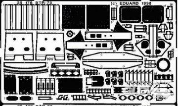 BTR-70 Detailbausatz Außen · EDU 35178 ·  Eduard · 1:35