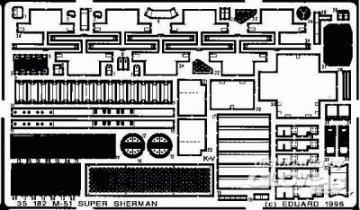 M51 Super Sherman · EDU 35182 ·  Eduard · 1:35