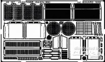 Jagdtiger (Sd.Kfz.186) Detailbausatz · EDU 35197 ·  Eduard · 1:35