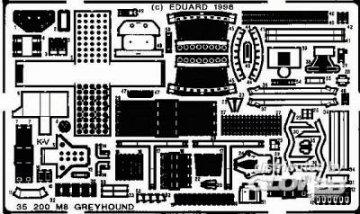 M8 Greyhound · EDU 35200 ·  Eduard · 1:35