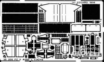 Pz.II Ausf. L Luchs Detailbausatz · EDU 35205 ·  Eduard · 1:35