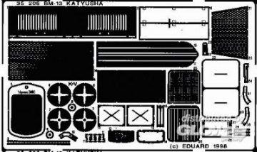 BM-13 Katyusha Detailbausatz · EDU 35206 ·  Eduard · 1:35