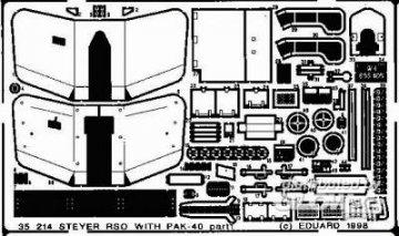 Steyr RSO mit PAK-40 Detailbausatz · EDU 35214 ·  Eduard · 1:35