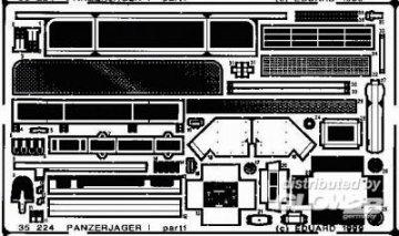 Panzerjäger I Detailbausatz · EDU 35224 ·  Eduard · 1:35
