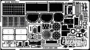BRDM-2 Detailbausatz · EDU 35229 ·  Eduard · 1:35