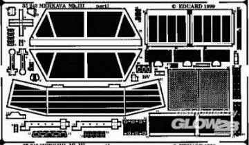 Merkava Mk.III · EDU 35243 ·  Eduard · 1:35
