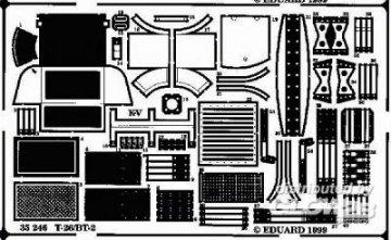 T-26/ BT-2 · EDU 35246 ·  Eduard · 1:35