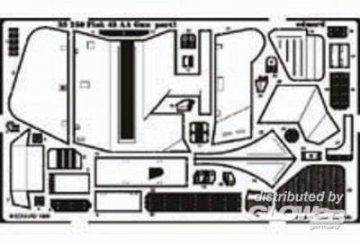 3,7 cm Flak 43 Detailbausatz · EDU 35250 ·  Eduard · 1:35