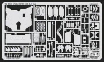 Pak 35/36 3,7 cm [Tamiya] · EDU 35392 ·  Eduard · 1:35