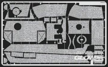 Pz.V Panter G Early Zimmerit 1 [Tamiya] · EDU 35393 ·  Eduard · 1:35