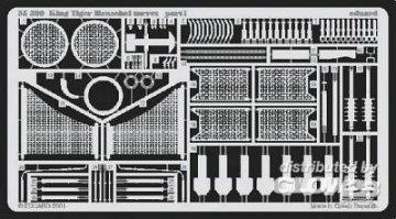 Königstiger mit Henschelturm  · EDU 35399 ·  Eduard · 1:35