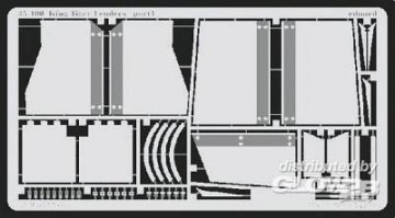 Königstiger Schutzvorrichtungen  · EDU 35400 ·  Eduard · 1:35