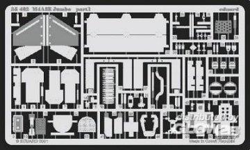 US M4A3E2 Jumbo Fotoätzsatz · EDU 35402 ·  Eduard · 1:35