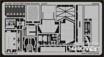 M-113 IDF Zelda Inneneinrichtung  · EDU 35436 ·  Eduard · 1:35