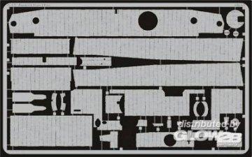 Zimmerit Tiger I Late [Tamiya] · EDU 35442 ·  Eduard · 1:35