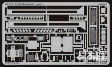 M3A2 Halftrack Fotoätzsatz · EDU 35447 ·  Eduard · 1:35