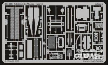 Sd.Kfz.142 Wespe mit Haubitze FH18/2  · EDU 35450 ·  Eduard · 1:35